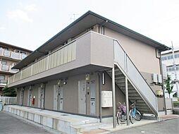 大阪府寝屋川市木田元宮2丁目の賃貸アパートの外観