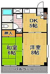 HENMIマンション[2階]の間取り
