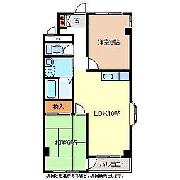 ペルソナツインビル[2階]の間取り