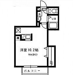 CUBE&CUBE[1階]の間取り