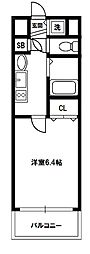 プレサンス新大阪クレスタ[5階]の間取り
