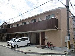 大阪府寝屋川市黒原旭町の賃貸アパートの外観