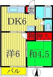 第6ドリームコーポ[2階]の間取り