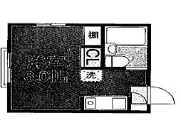 ドムール国分寺[2階]の間取り