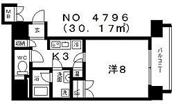 RESIDENCE SHINO(レジデンス志野)[6階]の間取り