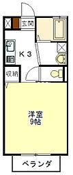 メゾンYOU A棟[2階]の間取り