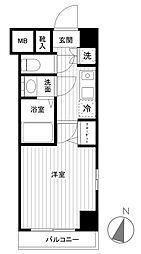 メインステージ赤坂[3階]の間取り