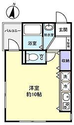 PARK VIEW 勝田台[1階]の間取り