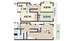 [テラスハウス] 愛知県日進市香久山2丁目 の賃貸【/】の間取り
