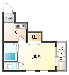 スターハウス[2階]の間取り