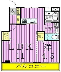 メゾン加賀[3階]の間取り