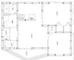 JR福塩線 神辺駅 徒歩5分の賃貸アパート 2階2DKの間取り