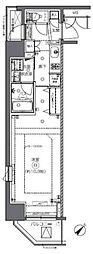 JR総武本線 馬喰町駅 徒歩2分の賃貸マンション 3階1Kの間取り