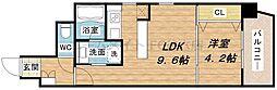 B-PROUD江戸堀[11階]の間取り