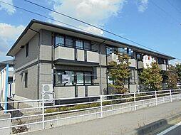 ツインズコート稲田B棟[2階]の外観