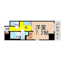 プレミアム黒川[5階]の間取り