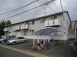 愛知県名古屋市中村区日比津町1丁目の賃貸アパートの外観
