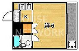 川上マンション[6号室号室]の間取り