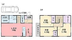 [一戸建] 福岡県糸島市荻浦 の賃貸【/】の間取り