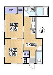 [一戸建] 埼玉県草加市清門2丁目 の賃貸【/】の間取り