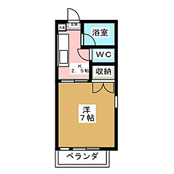 高橋アパート[2階]の間取り