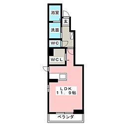 ピースジョイ[1階]の間取り