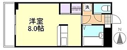 プレアール笹沖[1階]の間取り