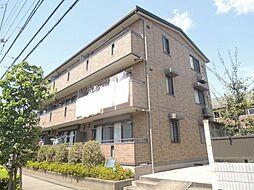 東京都足立区舎人5丁目の賃貸アパートの外観