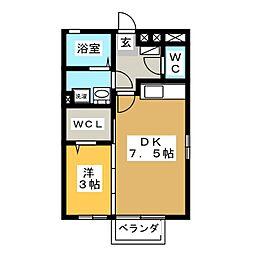 メルシー寿・幸CD[2階]の間取り