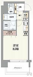 Osaka Metro千日前線 玉川駅 徒歩5分の賃貸マンション 4階1Kの間取り