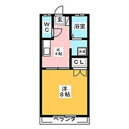 鎮守荘[1階]の間取り