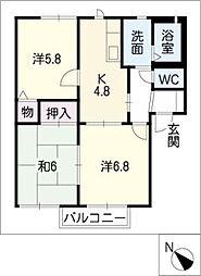 NAOIC棟[1階]の間取り