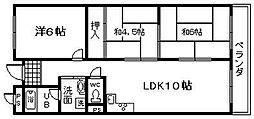 センチュリー21セイワ[3階]の間取り