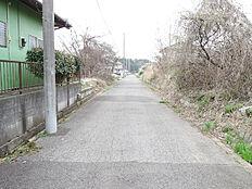 南側前面道路、約4.8m公道