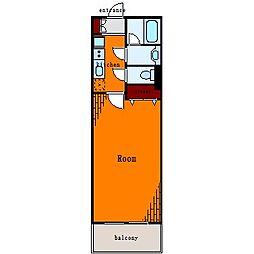 プロスペクト東雲橋[4階]の間取り