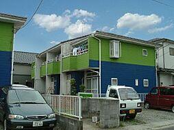 埼玉県吉川市高久の賃貸アパートの外観