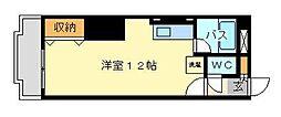 片野タカヤコーポレーション[601号室]の間取り