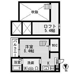 セレーネ豊田本町(セレーネトヨタホンマチ)[2階]の間取り