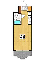 プレイスインホリカミ[2階]の間取り