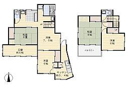 [一戸建] 神奈川県横須賀市小矢部2丁目 の賃貸【/】の間取り