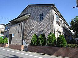 東京都江戸川区中央2丁目の賃貸アパートの外観