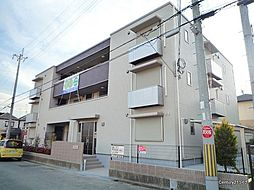兵庫県伊丹市荒牧7丁目の賃貸マンションの外観