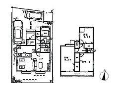 F号棟建物プラン 建物価格1、040万円(税込)