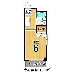 CITYHOUSE小山[305号室]の間取り