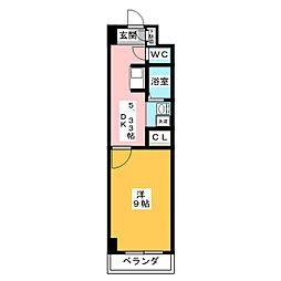 ドマーニ上小田井[3階]の間取り
