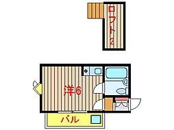 サンピア七林[2-A号室]の間取り