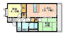 マグノリア[1階]の間取り