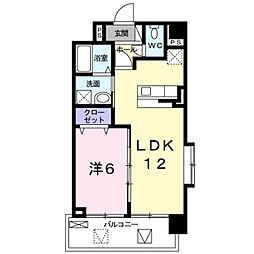 パークサイドヴィラ[2階]の間取り