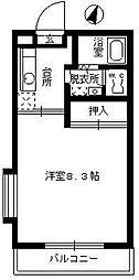 メゾンいけべ[105号室]の間取り