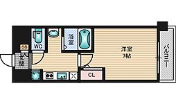 SDグランツ新大阪[4階]の間取り